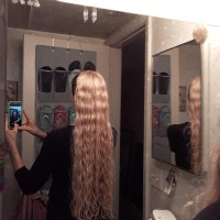 Lord of the Rings Queen of the Elves Golden Blonde  hair 24 inches