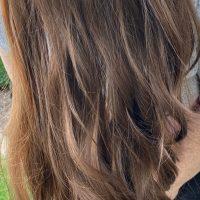 Long, medium red, thick strand virgin hair