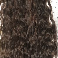 "19"" healthy virgin black long straight hair"