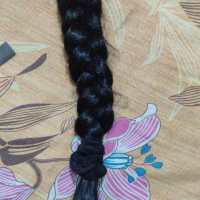 Black virgin hair, 19+ inches long