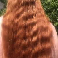 Long Thick Virgin Red Wavy Untreated Hair