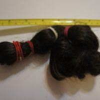 black curly black natural shiny virgin hair