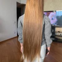 "20"" Exclusive Child Virgin Slavic Golden Blonde Hair"