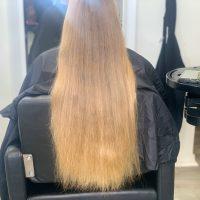 Raw Golden Blonde Medium Textured Hair