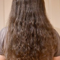 "16"" Wavy Brown Hair for Sale"