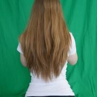 17″ Virgin Golden Blonde Hair