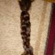 18 inches, fresh cut, ranked, sraight, kid's virgin hair.