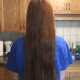 "15"" Of Beautiful Real Red Hair'"