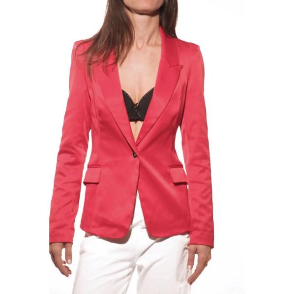 Giacca rossa Attentif, jacket, blazer