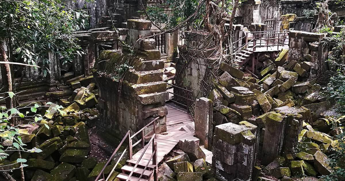 Beng Mealea Temple Guide The Jungle Temple Just Siem Reap