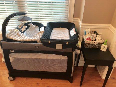 newborn baby home organization
