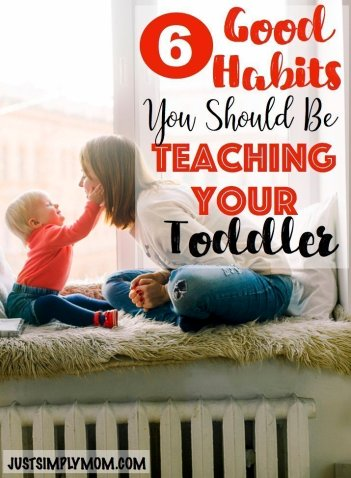 Teaching good habits starts early for a child. They will learn when they are babies and toddlers how to have manners. Here are tips to teach them early.