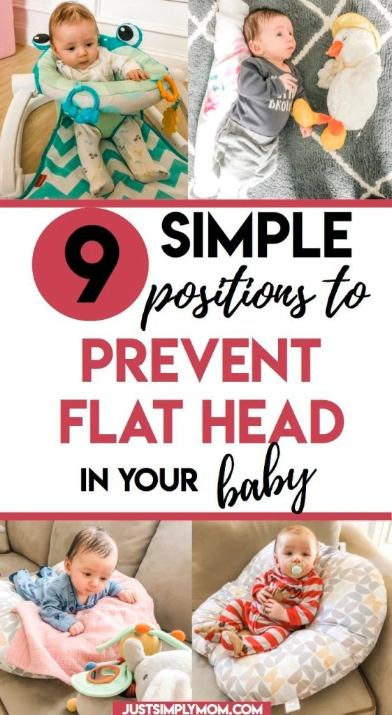 Flat spots on an infant's head, or plagiocephaly, are relatively common now. Sometimes it is hereditary, but there are ways that you can help to prevent it or further the damage caused. Follow these tips to keep your baby's head round.