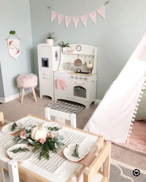 Design a beautiful, modern playroom with your child and chic home decor in mind. Playrooms are not just storage for toys, but can be an extension of your home. Give your toddler's playroom a makeover this year with these storage, organization, and decor tips.