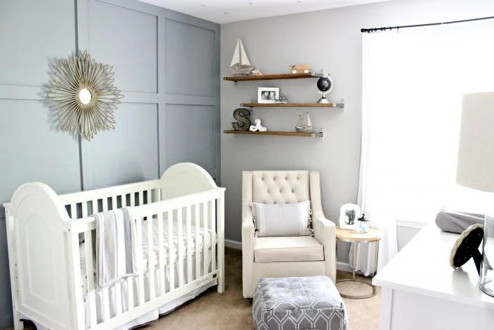 Here are some neutral nursery room ideas. These are soft and simple ideas to get you started on your nursery room. Inspiration for gender neutral nurseries with white, grey, beige, taupe, or ivory colors.