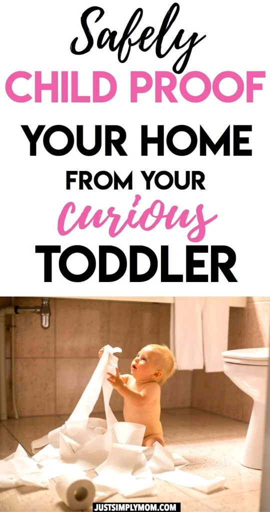 Learn ways to baby proof and get your home ready for your toddler who loves to explore. Child proofing requires looking at your whole house and identifying all the potential hazards. Decrease safety risks, limit messes, and promote their independence.