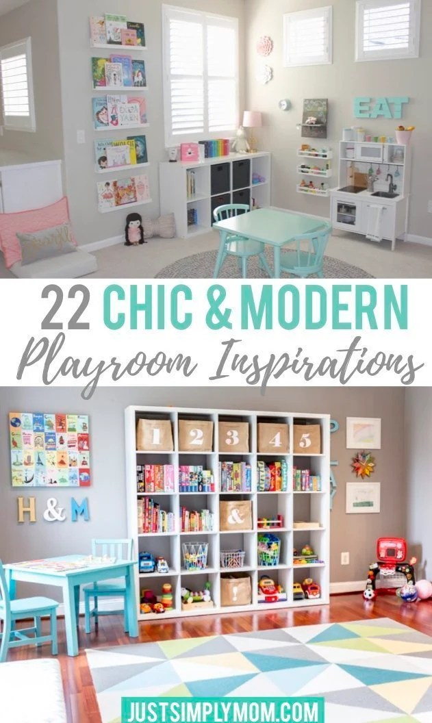 22 Chic Playroom Inspirations That Even Mom Would Love to Play In