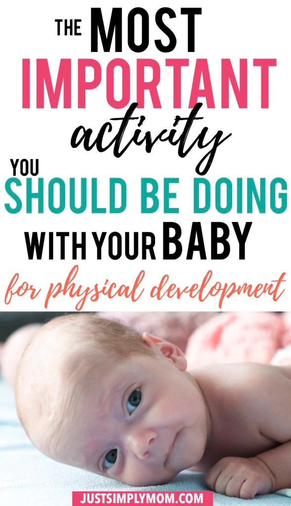 Tummy time is the most important skill your baby should be learning from when they are 1 day old. Some newborns really hate being on their belly. Infants can have a really hard time being on their tummy because it can be hard for them. However, the benefits of tummy time are so great and it works on so many skills and milestones. Here are some tips to get your baby to enjoy being on their belly and get the maximum amount of time exposed to it.