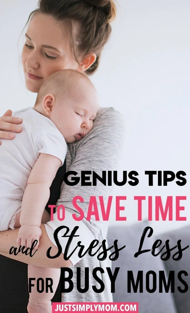 Being a mom can have you feeling very stressed and like you have no time for anything. Whether you're a stay at home mom or working mom, follow these tips to save time and manage your day better and get more accomplished.