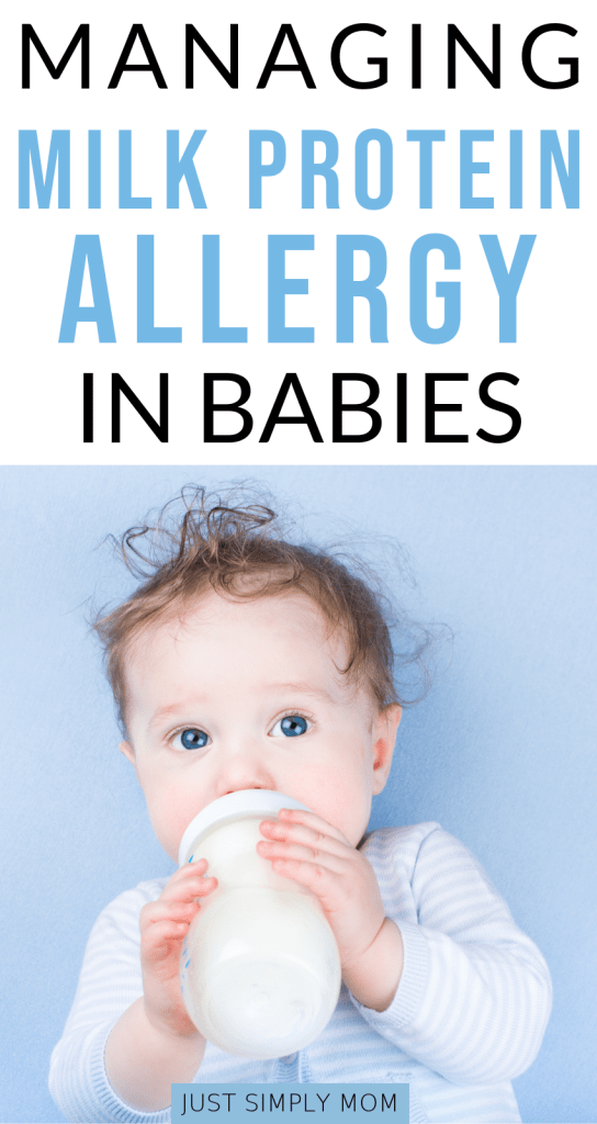 Managing your child's cows milk protein allergy or dairy intolerence doesn't have to be hard. Here are some signs to look out for and ways to manage it.