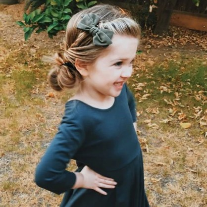 Easy toddler girl hairstyles