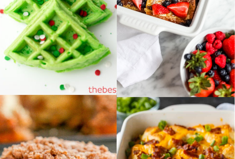 28 Christmas Breakfast Ideas Perfect for the Whole Family