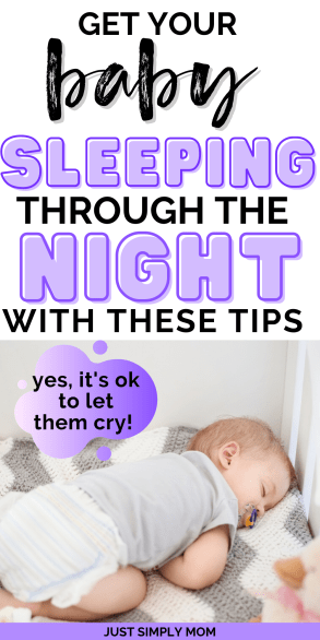 Sleep training is the best thing you can do for you and your baby. Get your baby sleeping through the night by following these tips for a sleep training method. This will help you get better sleep and get your baby on a predictable schedule or routine so they are more pleasant and sleep better for naps and through the night.