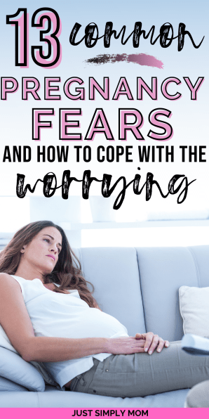 Pregnancy can bring about anxious thoughts and worries, but here are the most common fears for all pregnant women. I have also included reasons and tips to ease those fears and focus on the positive aspects instead so you can stop worrying so much.