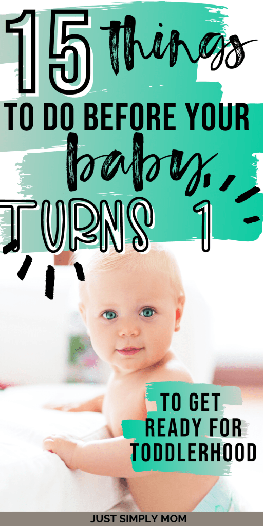 The baby stage is quickly drawing to an end and it's time to promote your child's independence, curiosity, and engagement. Once babies approach the 1 year mark, they become much more independent and you will see their personality start to emerge. This period is when they will start walking and talking and just being a little person! Here is a list of ways to prepare you and your baby for toddlerhood and being a 1 year old.
