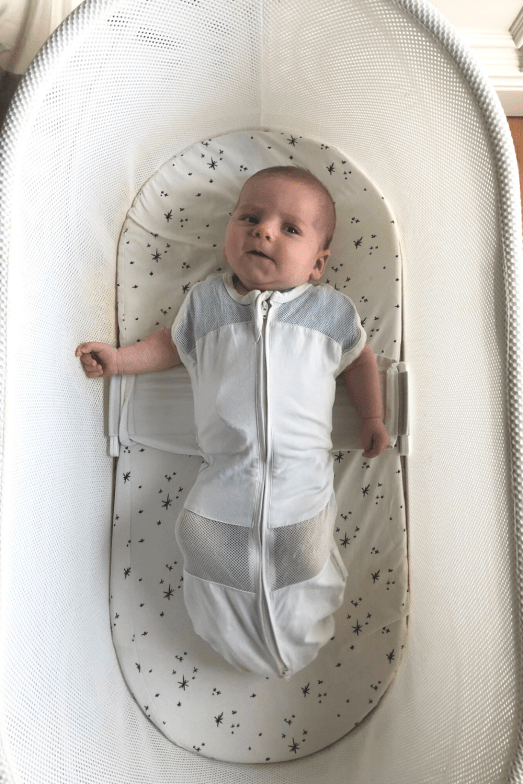 The SNOO smart sleeper is a miracle baby bassinet that parents should try to get baby sleeping through the night. I know what you're thinking, It's so expensive, Is the SNOO worth the money? Here's my SNOO review as a mom of 3