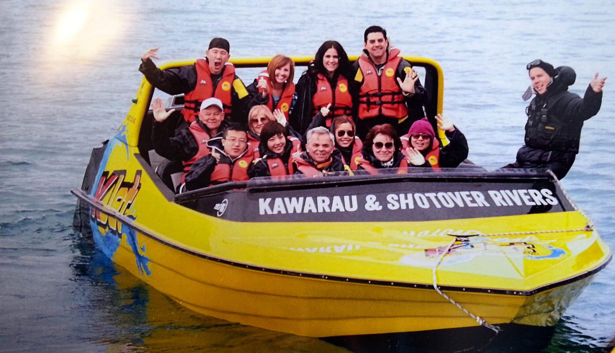 8 Unforgettable things to do in Queenstown New Zealand   KJet jet boat tour #newzealand #queenstown #simplywander