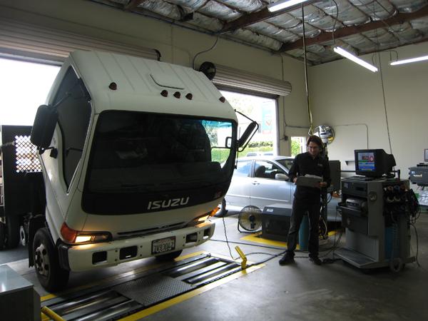Diesel Smog Check - Fleet Vehicle