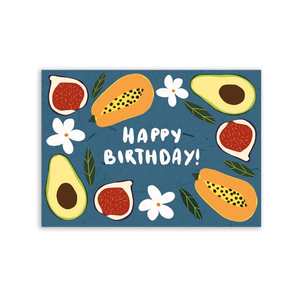 Листівка «Exotic Happy Birthday»