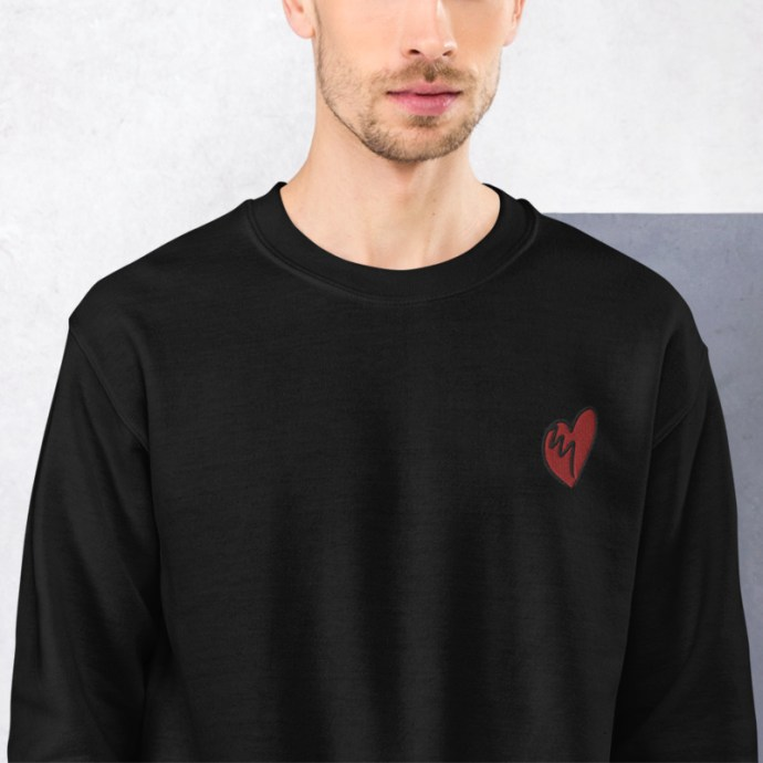 brokenhearted-unisex-sweatshirt_black