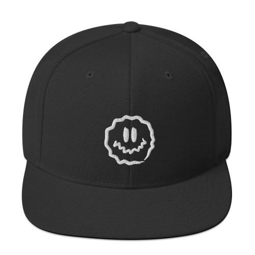 antsyface snapback hat