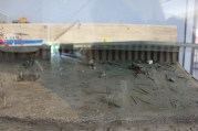Model of the ship excavation site under at the bottom of the Rhone. I liked the car. How realistic!