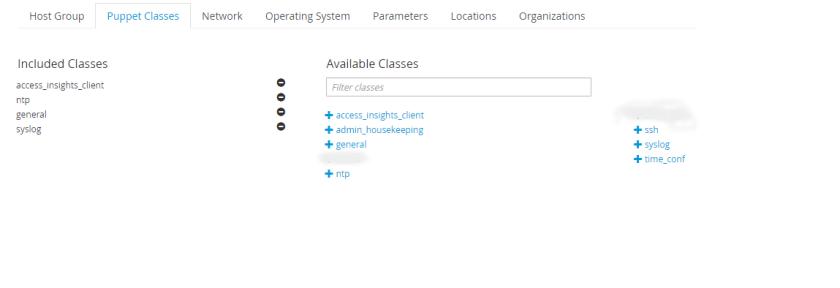 host group screenshot