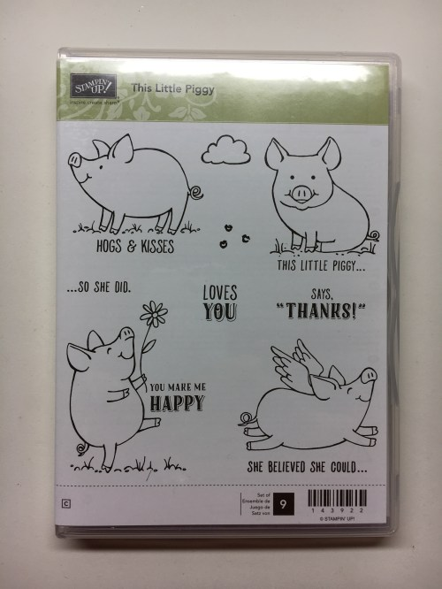 Stampin Up This Little Piggy Stamp Set - to order visit my blog at juststampin.com
