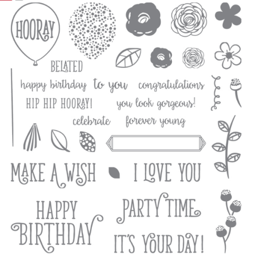 Happy Birthday Gorgeous stamp set