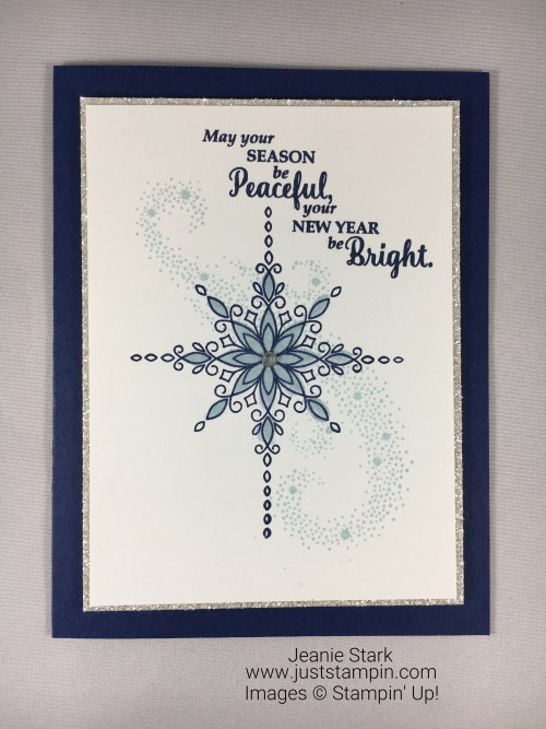 Stampin Up Star of Light Christmas card idea - Jeanie Stark StampinUp