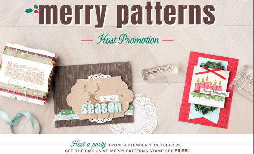 Merry Patterns Host Promo