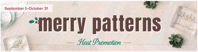 Merry Patterns Host Promotion