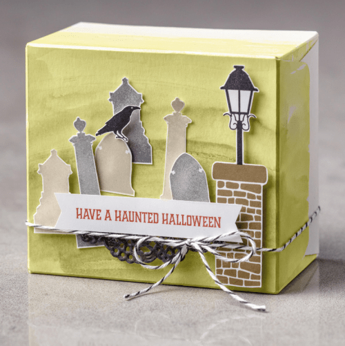 Stampin Up Graveyard Gate box Idea - Jeanie Stark StampinUp