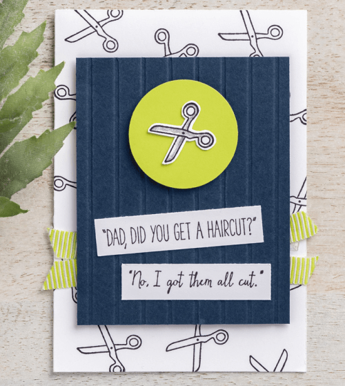 Stampin Up Dad Jokes Father's Day or birthday card idea - Jeanie Stark StampinUp