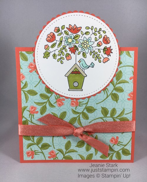 Stampin Up Flying Home all occasion card idea - Jeanie Stark StampinUp