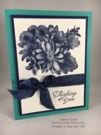 Stampin Up Heartfelt Blooms Thinking of You card idea - Jeanie Stark StampinUp