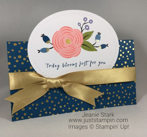 Stampin Up Perennial Birthday Card idea - Jeanie Stark StampinUp
