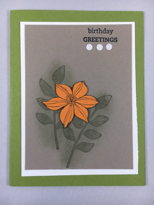 Stampin Up Birthday Greetings - For ideas, inspiration, tips, ordering, and more visit www.juststampin.com Jeanie Stark StampinUP