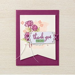 Share What You Love thank you card idea