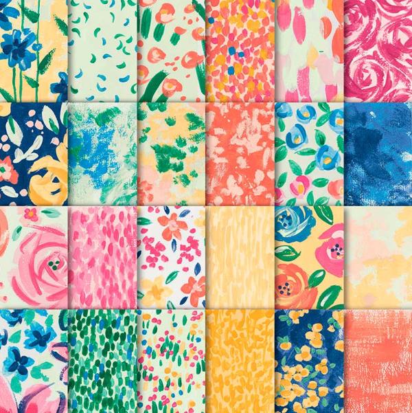 Stampin Up Garden Impressions Designer Series Paper - Jeanie Stark StampinUp